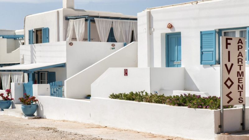 Fivos Apartments  / Santorini