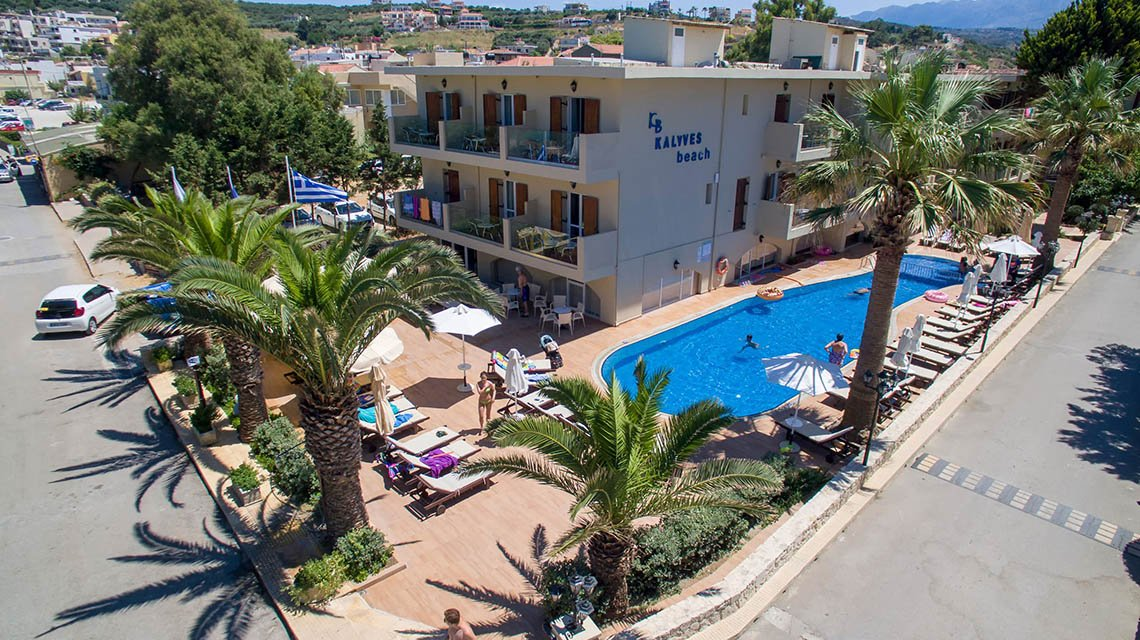 Hotel Kalyves Beach / Kreta