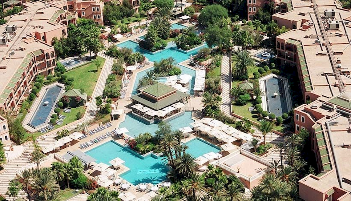 Hotel Palmeraie Golf Palace / Marrakesch