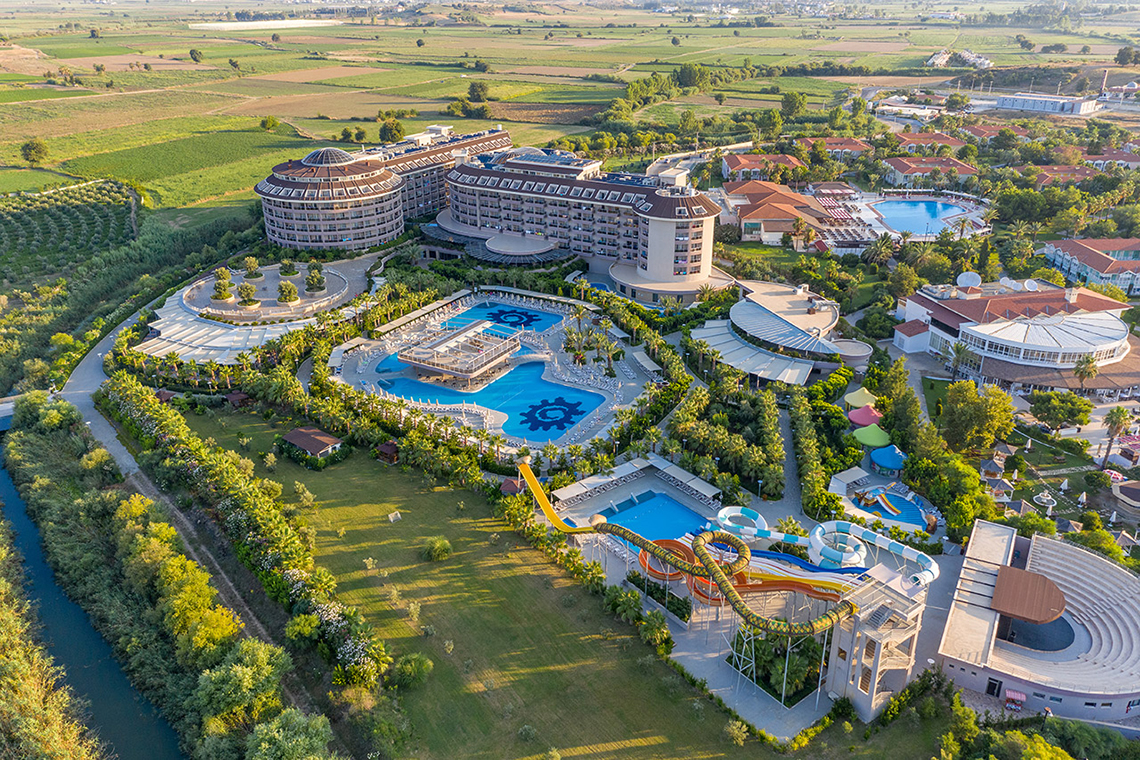 Antalya Side - Manavgat Sunmelia Beach Resort Hotels & Spa