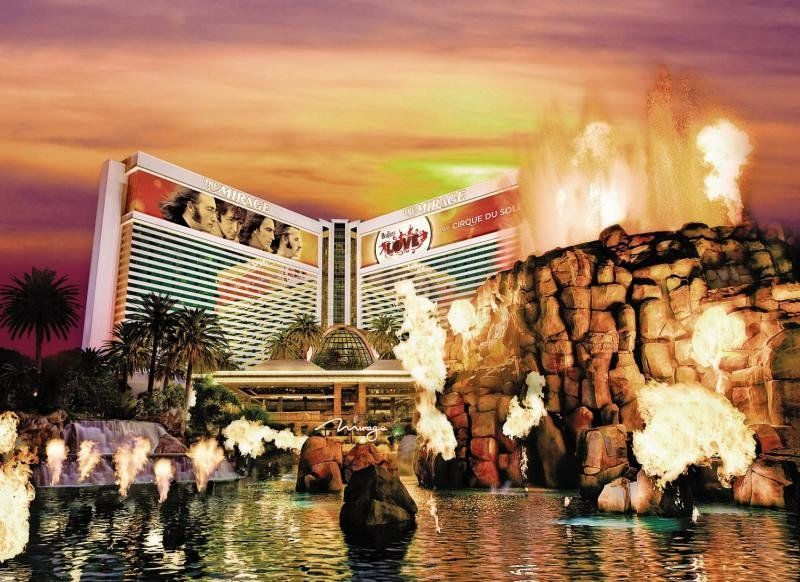 The Mirage Hotel and Casino / Las Vegas